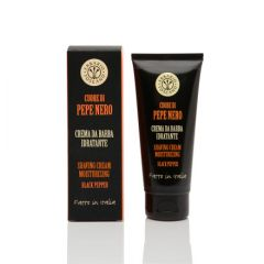 Black Pepper Shaving Cream by Erbario Tuscano