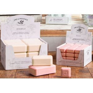 Pre de Provence Shea Butter Enriched Soap in 25g and 150g multi-bar packs
