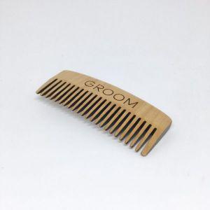 GROOM Wooden Comb